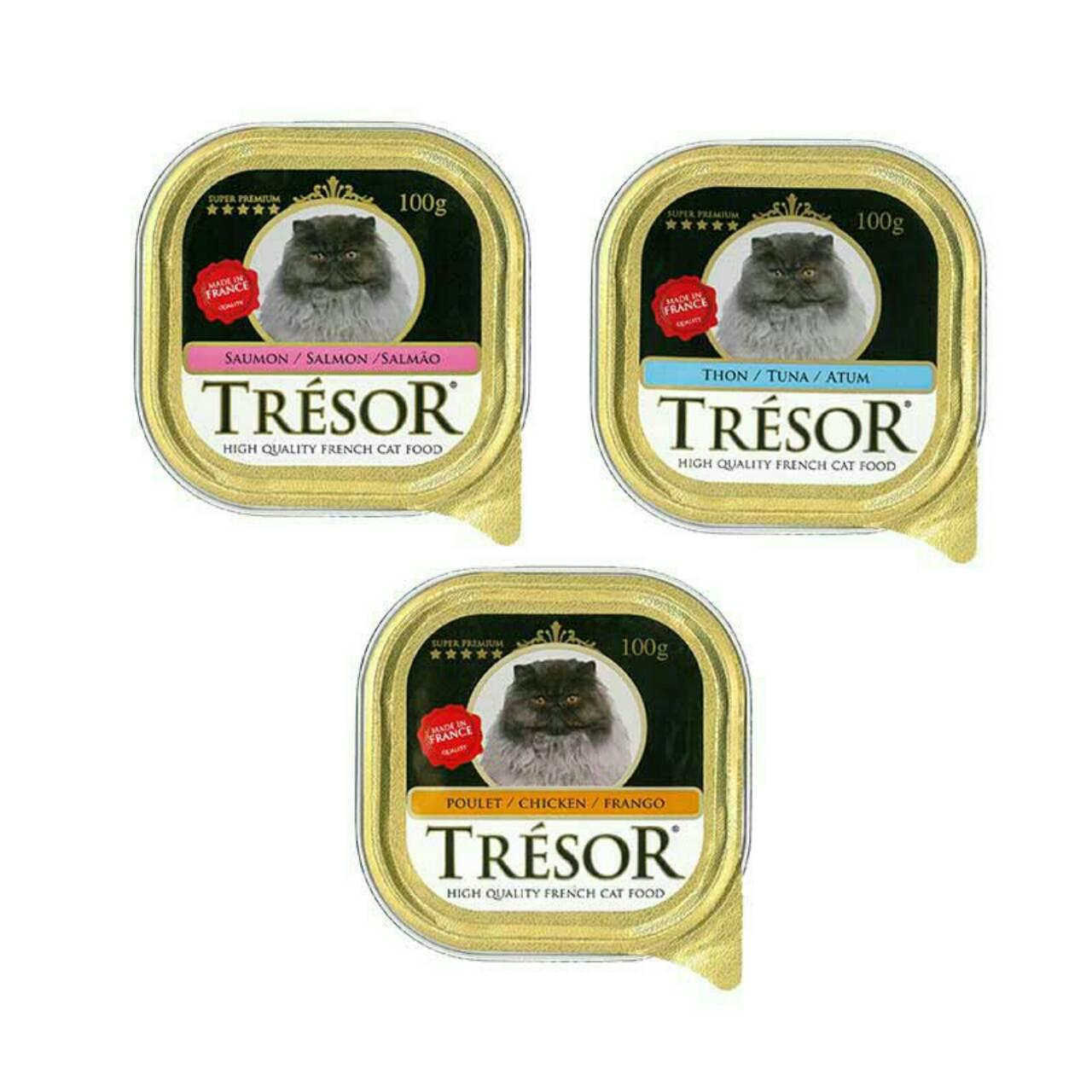 Tresor Cat 3 ถาด 100 บาท