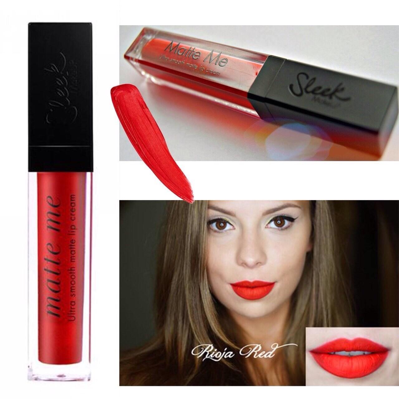 Sleek Matte Me Ultra Smooth Matte Lip Cream #433 Rioja Red