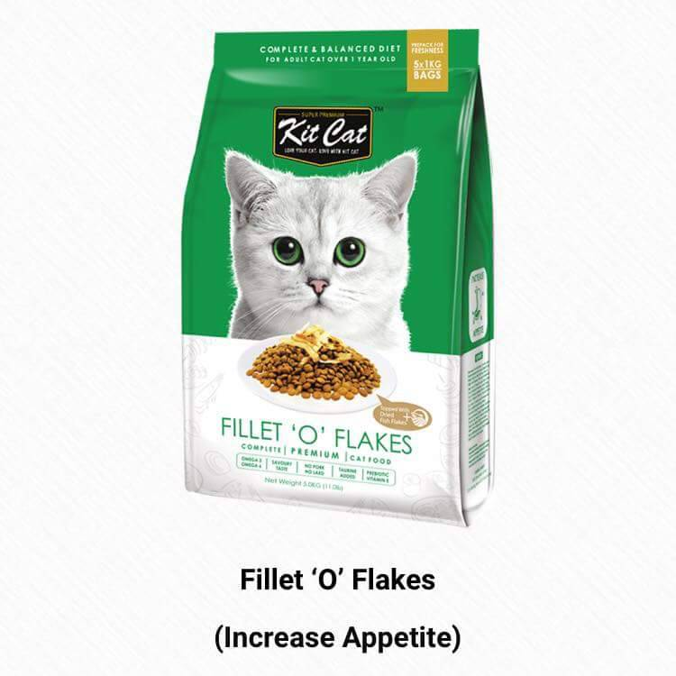 Fillet 'O' Flakes (Increase Appetite)