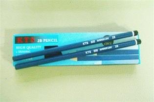 ดินสอเหลา2B 12แท่ง 17 บาท
