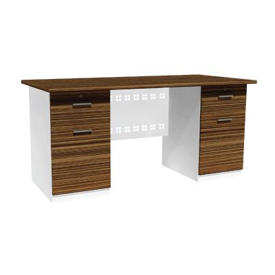 โต๊ะทำงาน 1.55 ม. ตู้ลิ้นชัก-บานเปิดซ้าย-ขวา ADK-1522