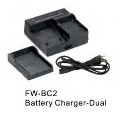 Batteries, Chargers, On-Camera Light Accessries, Cases & Bags FW-BC2