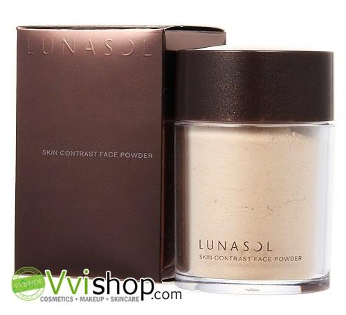 Lunasol Skin Contrast Face Powder (Refill) 15g # 02 Natural แป้งฝุ่นที่มีอณูละเอียดเป็นพิเศษ ทำให้เนียนกลมกลืนกับผิว (Inbox เคาน์เตอร์ไทย)