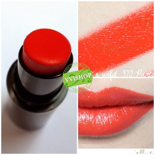Wet n Wild Mega Last Lip Color 3.3 g # 970 Purty Persimmon ลิป สีส้มเปรี้ยวจี๊ด
