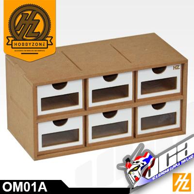 OM01A DRAWERS MODULE X 6