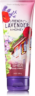 Bath & Body Works Ultra Shea Body Cream 226g. #FRENCH LAVENDER & HONEY