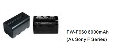 Batteries, Chargers, On-Camera Light Accessries, Cases & Bags FW-F960