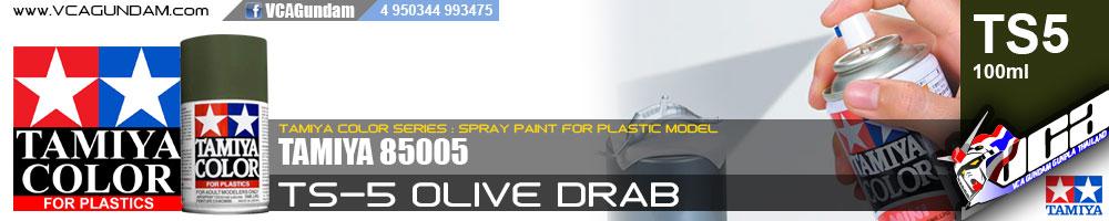 TAMIYA 85005 TS-5 OLIVE DRAB