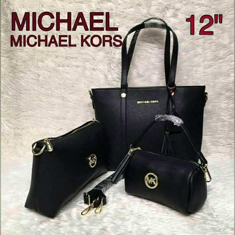 กระเป๋าแบรนด์ : mk เซต 3 ใบ ✔ เกรด : พรีเมียม