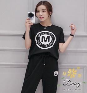เสื้อผ้าแฟชั่นเกาหลีสวยๆเสื้อกางเกงเป็นผ้ายืด