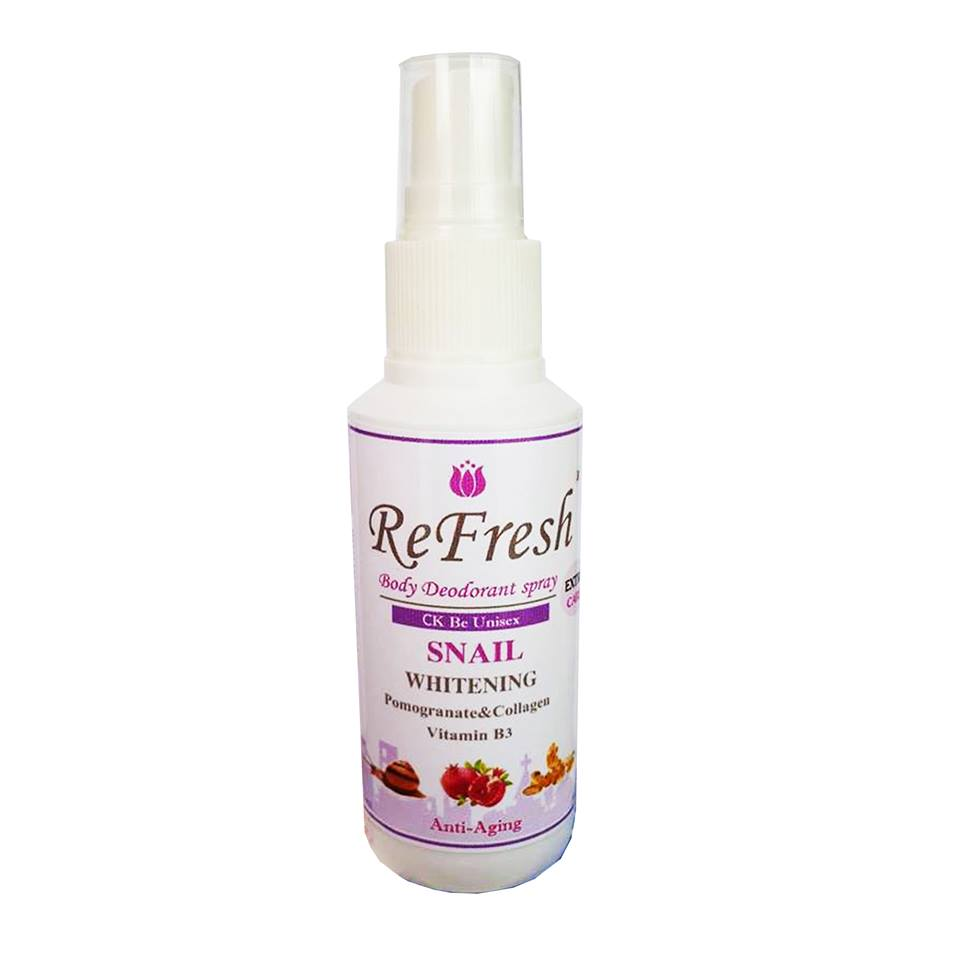 Refresh Extra Care Deodorant Spray ( CK Be Unisex )1 ขวด 60 ml