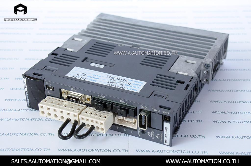 AC SERVO MODEL:MR-J3-60B [MITSUBISHI]
