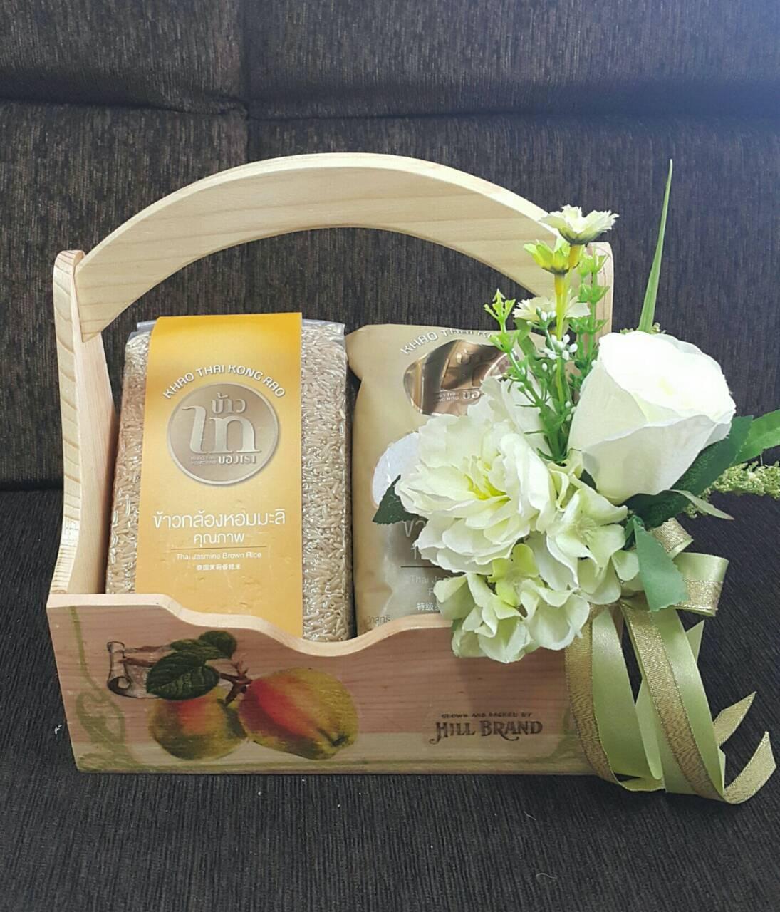 Flower-Hanabana กระเช้าของขวัญ