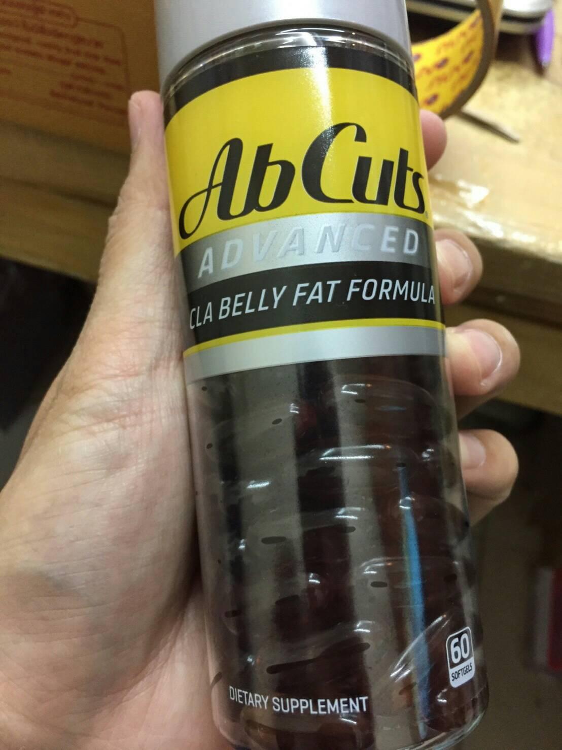 Ab Cuts Advanced CLA Belly Fat Formulas เผาผลาญไขมัน กระชับสัดส่วน 60 softgel