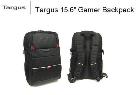 """กระเป๋าเป้ TARGUS GAMER BACKPACK 15.6"""" มีผ้ากันน้ำ"""