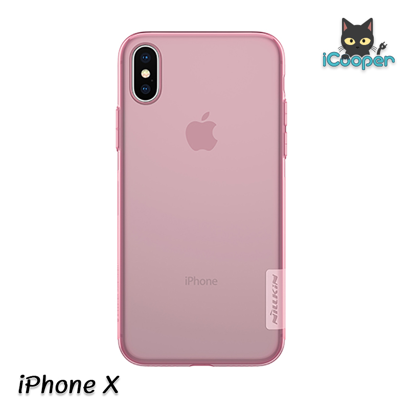 Nillkin Nature TPU Case - Pink (iPhoneX)