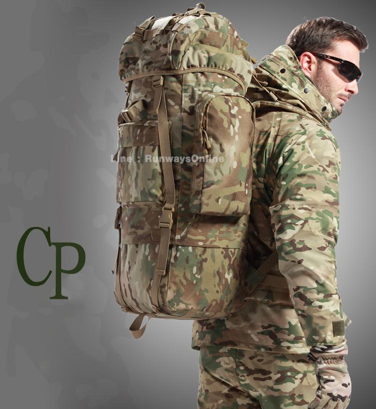 เป้ Backpack 65 ลิตร - มัลติแคม CP