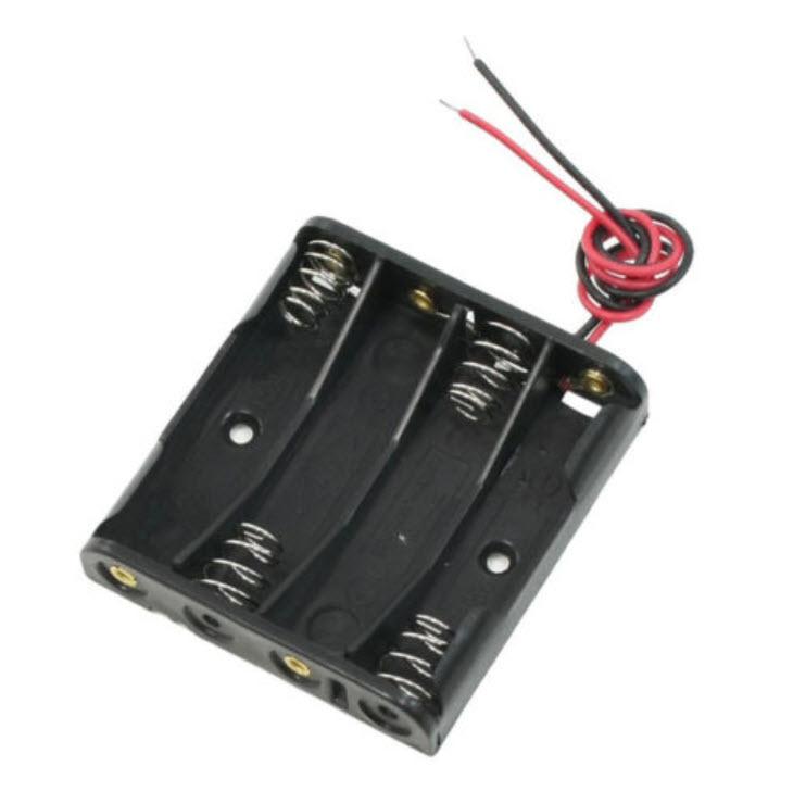 กล่องแบตเตอรี่ 4 x AAA (6V)