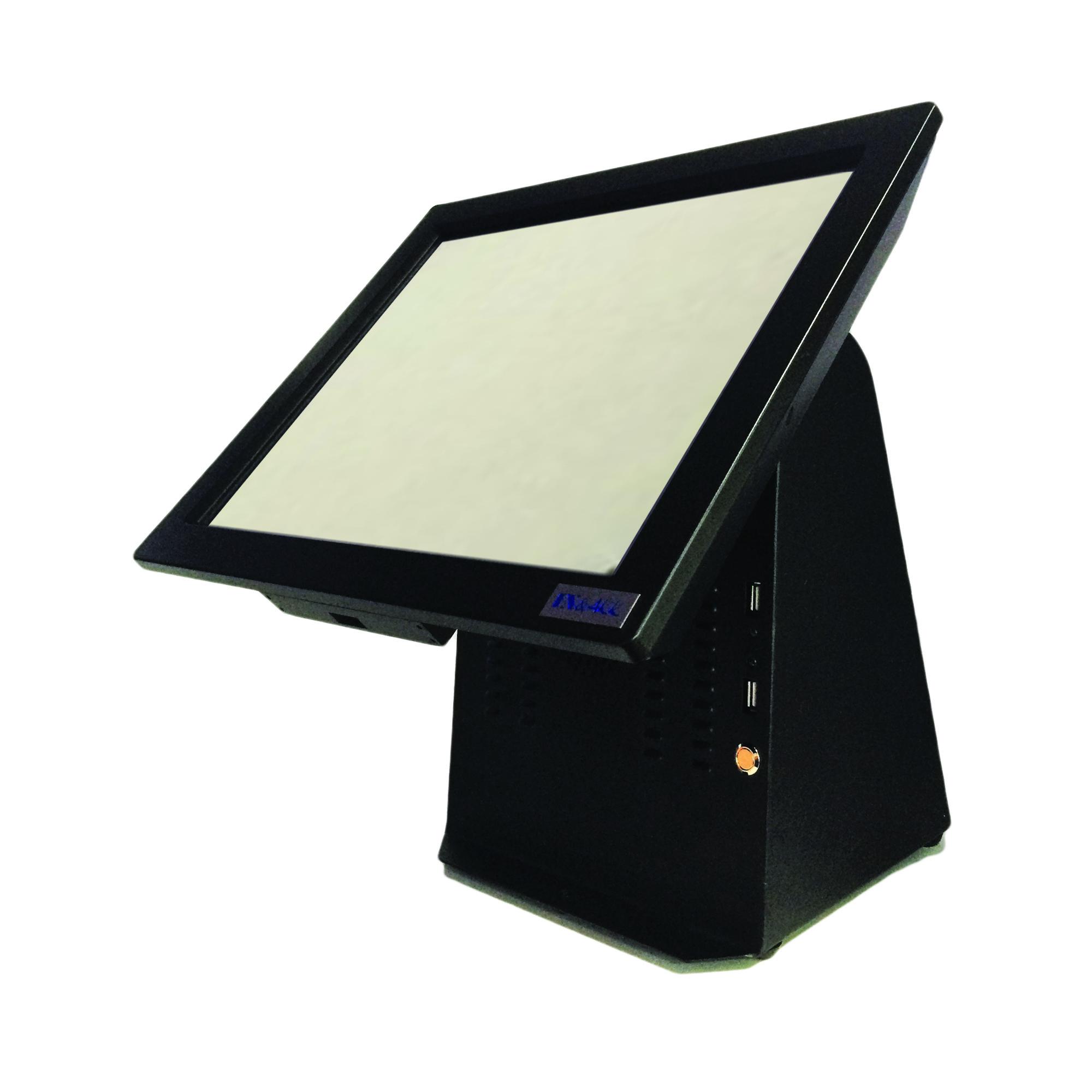 """คอมพิวเตอร์ระบบสัมผัส 15 นิ้ว Medium Duty สีดำ รุ่น IN-15A (All in One Touchscreen POS 15"""")"""