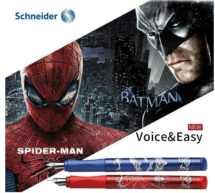 ปากกาหมึกซึม Schneider Colorful Series (+ Ink Converter)