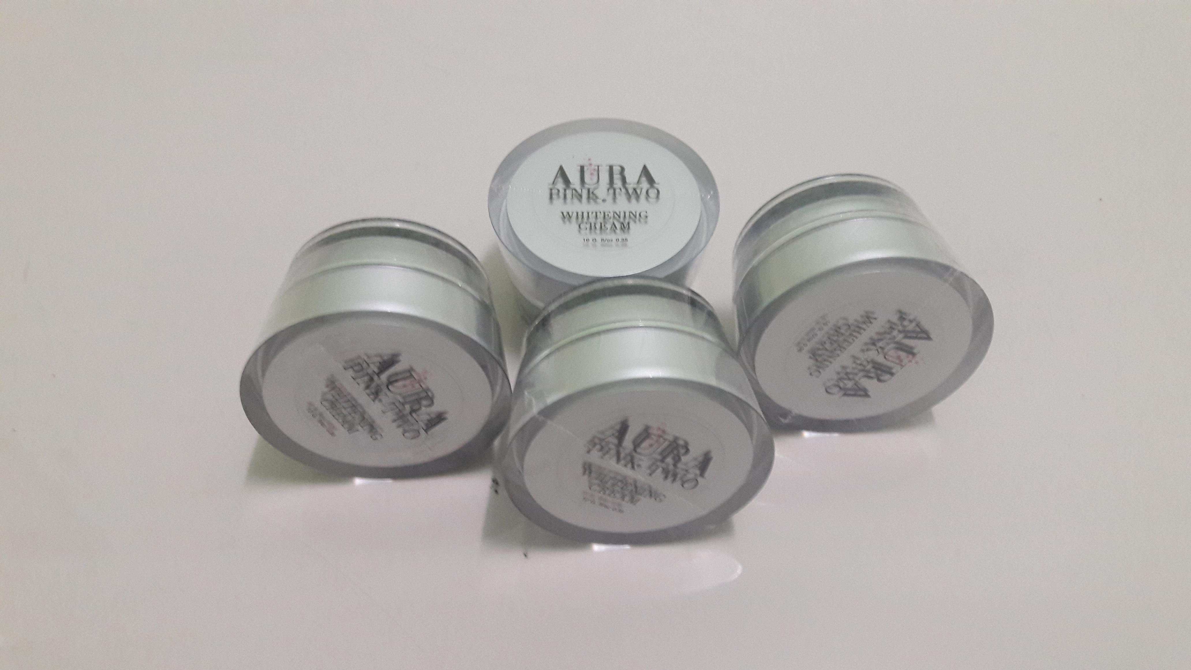 ออร่าพิ้งทู ผลิตภัณฑ์บำรุงหน้า ไวท์เท็นนิ่ง ครีม WHITENING CREAM Miracle Whitening Supreme Serum Cream ผลิตภัณฑ์ซีรั่มครีมสูตรเข้มข้น เพื่อผิวขาวใส