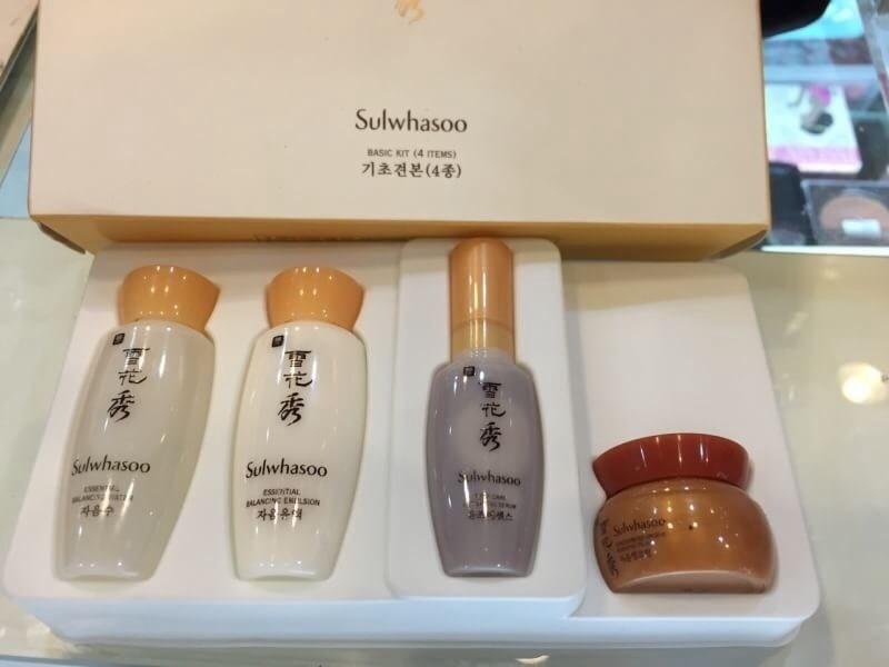 #Sulwhasoo Basic Kit (4 items)