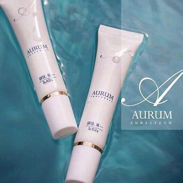 กันแดดอั้ม Aurum Ultimate Nano sunscreen SPF50+ PA+++