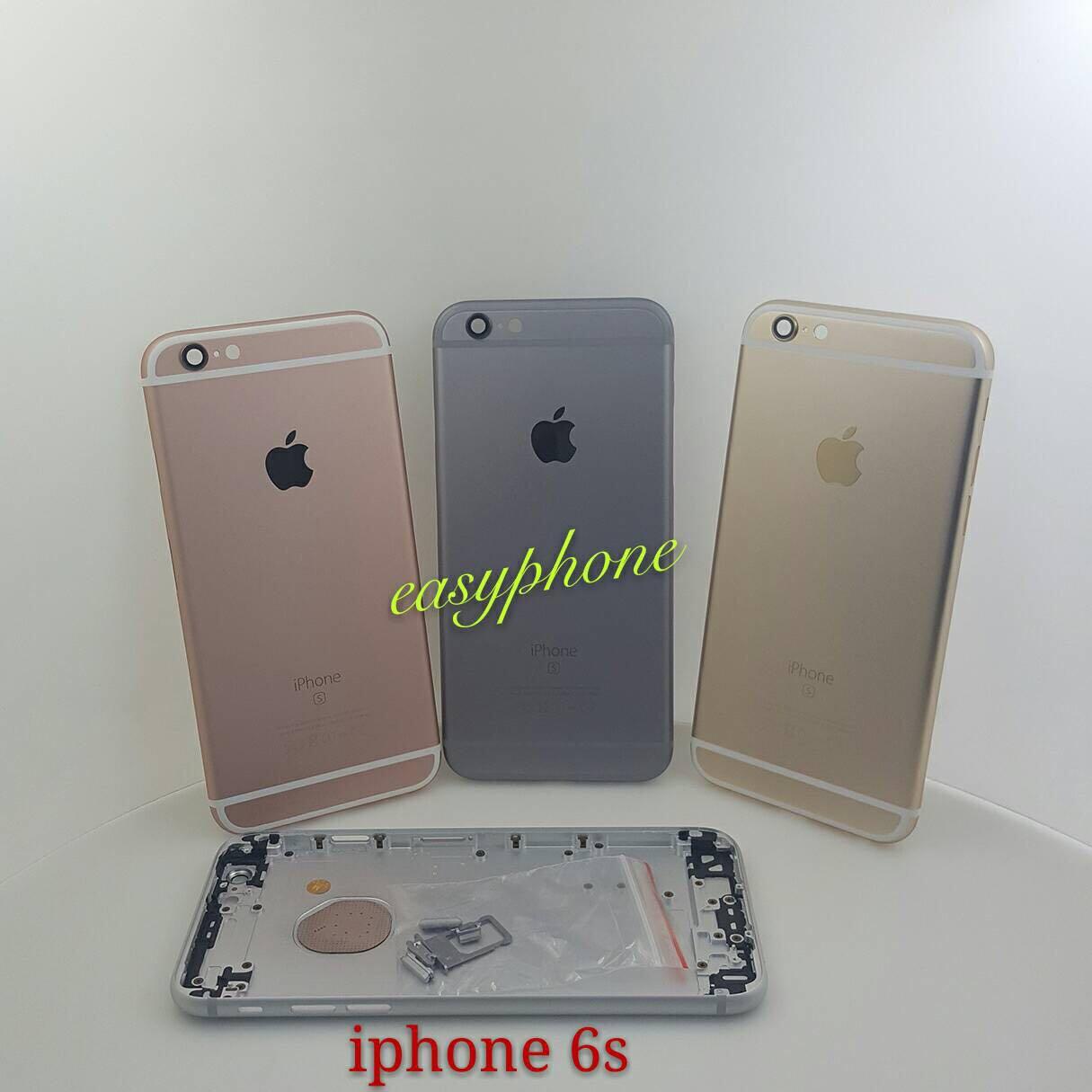ฝาหลัง iPhone 6s ของแท้ // สีดำ / สีขาว / สีทอง / สีชมพู