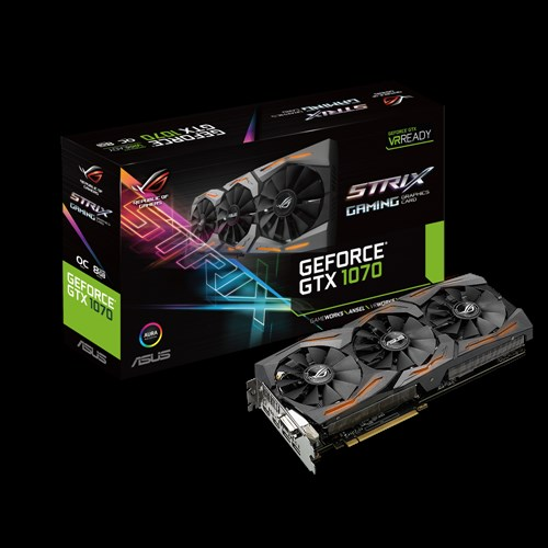 ASUS STRIX GTX1070 OC 8GB GDDR5X