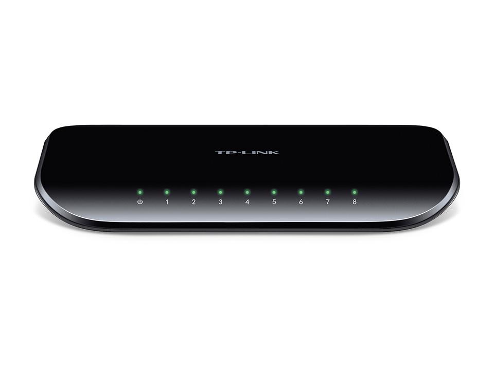 TP-LINK HUB 8-Port Gigabit Desktop Switch TL-SG1008D