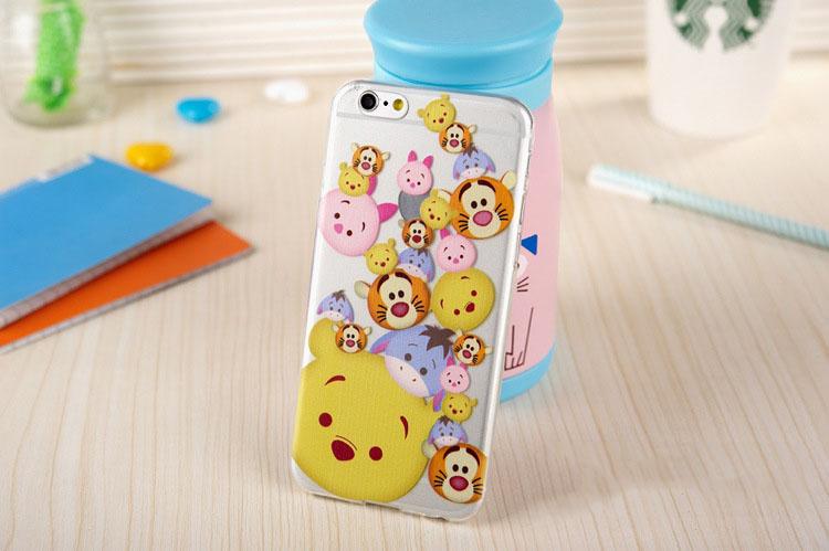 เคสยาง - มิกกี้ หมีพู ดิสนี่ย์ - เคส iPhone 6 Plus / 6S Plus