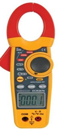 แคลมป์มิเตอร์ ดิจิตอล Velleman รุ่น DCM267N