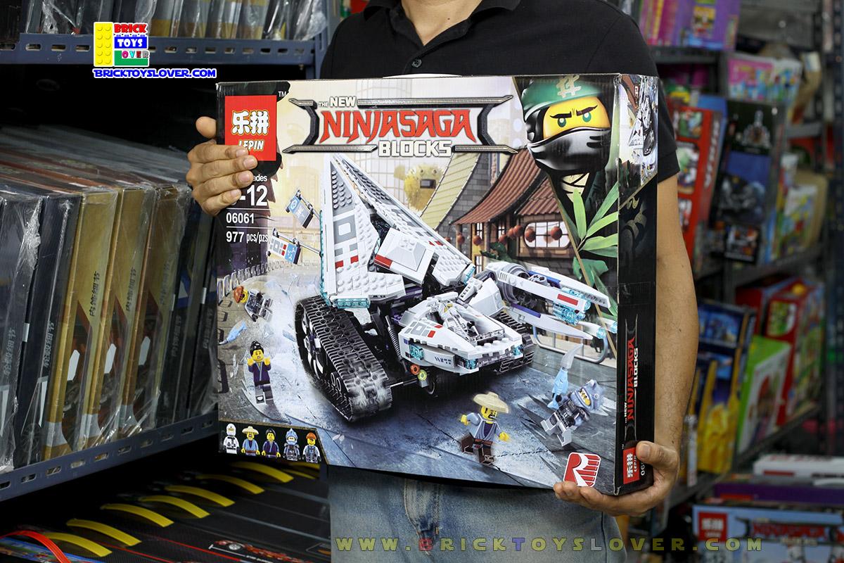 Ninja รถถังติดอาวุธต่อสู้ภาคพื้นดินของนินจาน้ำแข็ง Ice Tank