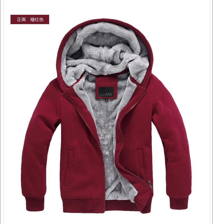 เสื้อกันหนาว Style เกาหลี มีหมวก Hood พร้อมกำมะหยี่หนา สามารถอยู่ในสภาพอากาศหนาวๆได้