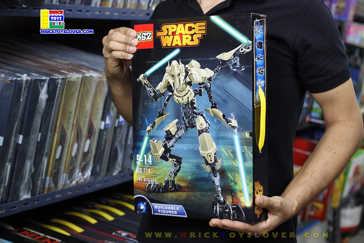 714 Star Wars โมเดลฟิกเกอร์ General Grievous นายพลกรีวัสในร่างไซบอร์ค
