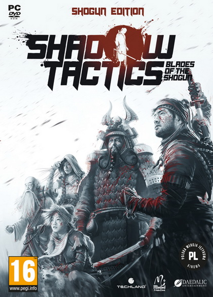 Shadow Tactics: Blades of the Shogun (1DVD9)