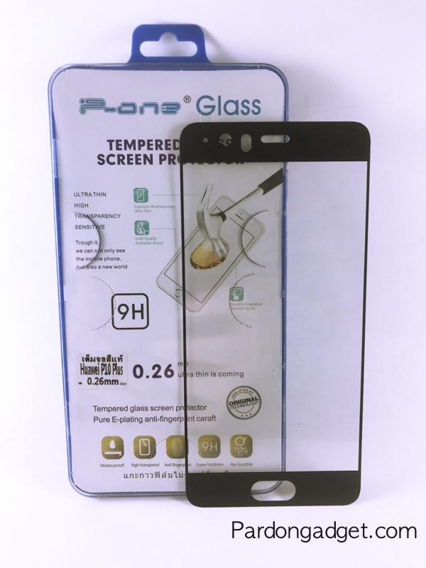 ฟิล์มกระจกเต็มจอ Huawei P10 Plus สีดำ