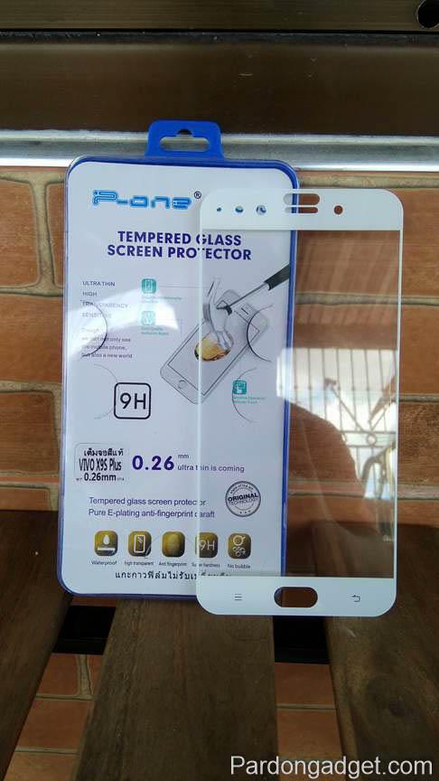 ฟิล์มกระจก Vivo X9S Plus เต็มจอ สีขาว
