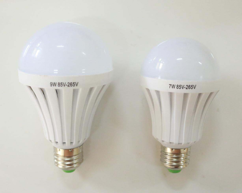 หลอดไฟ LED Emergency Light (ทำงานเมื่อไฟปกติดับ) ขั้ว E27 ขนาด 5W, 7W, 9W, 12W