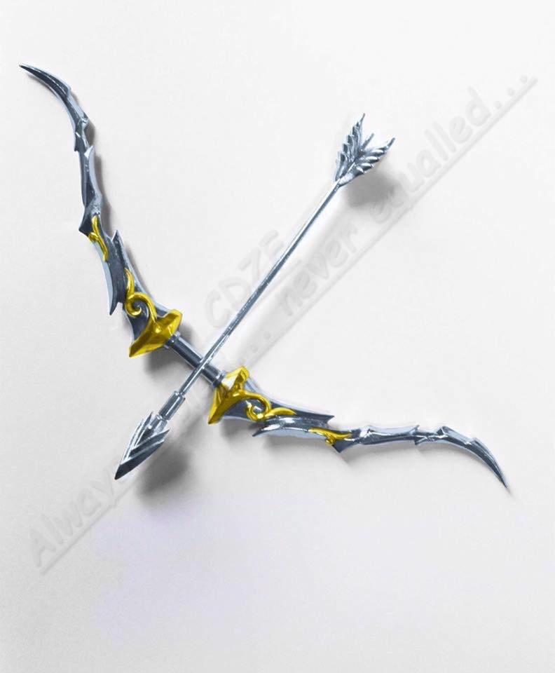 ้เปิดจอง Bow + a pair of hands for GreatToys Saint Cloth Myth EX Pegasus Seiya Godcloth