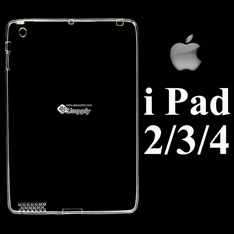 เคส iPad 2/3/4 ซิลิโคน สีใส