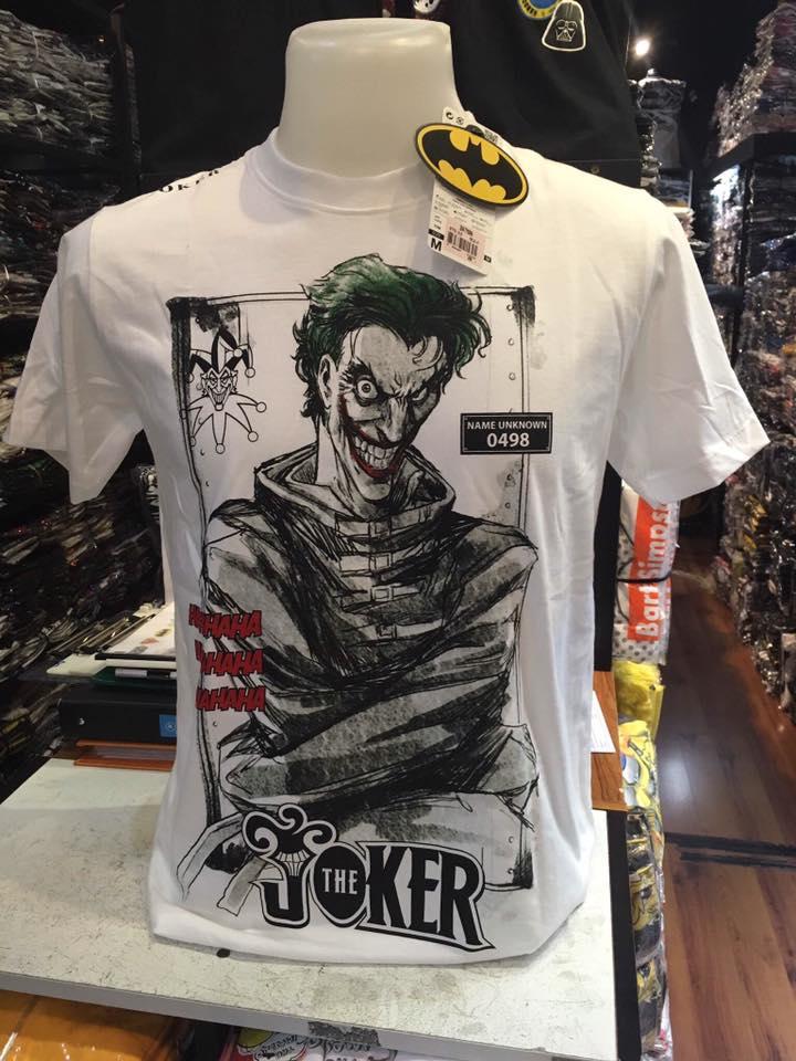 เสื้อ โจกเกอร์ สีขาว (Joker White 0498 CODE:1085)