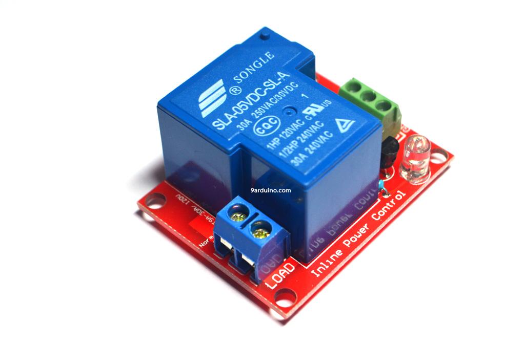 Module High-Power Relay รีเลย์ 30A 5V 1-Channel