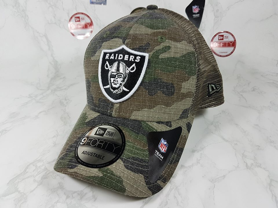 New Era NFL ทีม Oakland Raider 9Forty 57-60cm