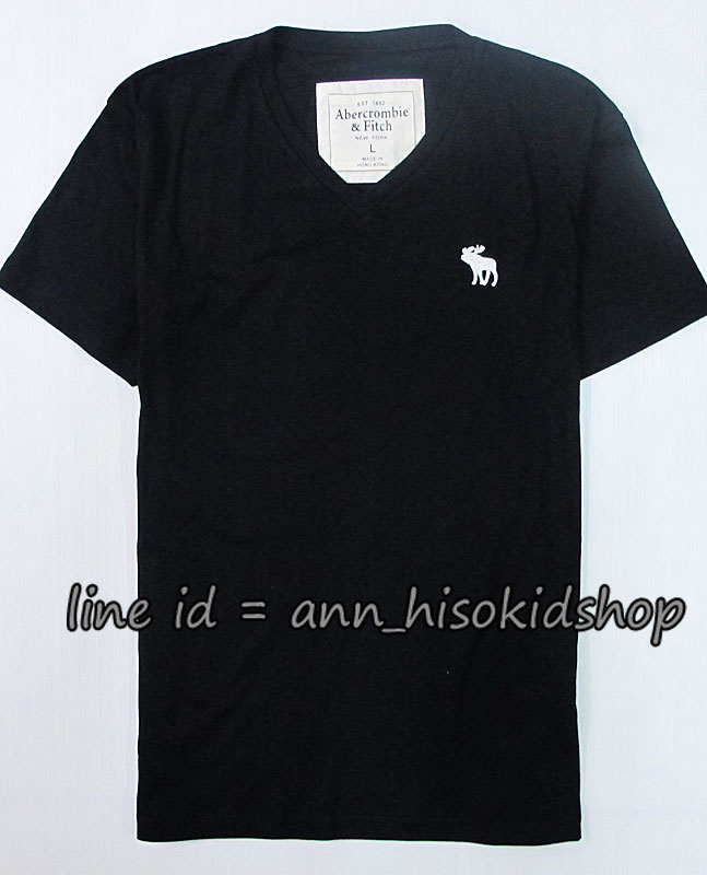 1707 Abercrombie&FitchT-Shirt - Black ขนาด L