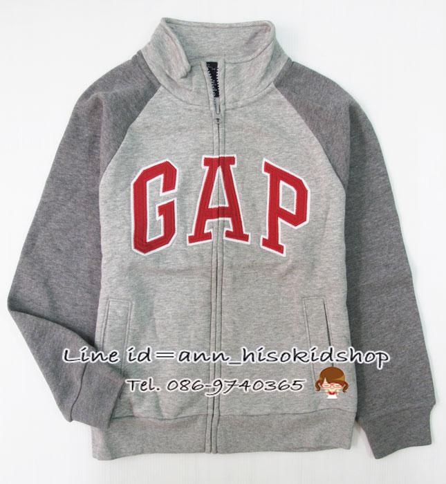 1162 Gap Kids Arch logo - Grey ขนาด XS(4-5) ปี