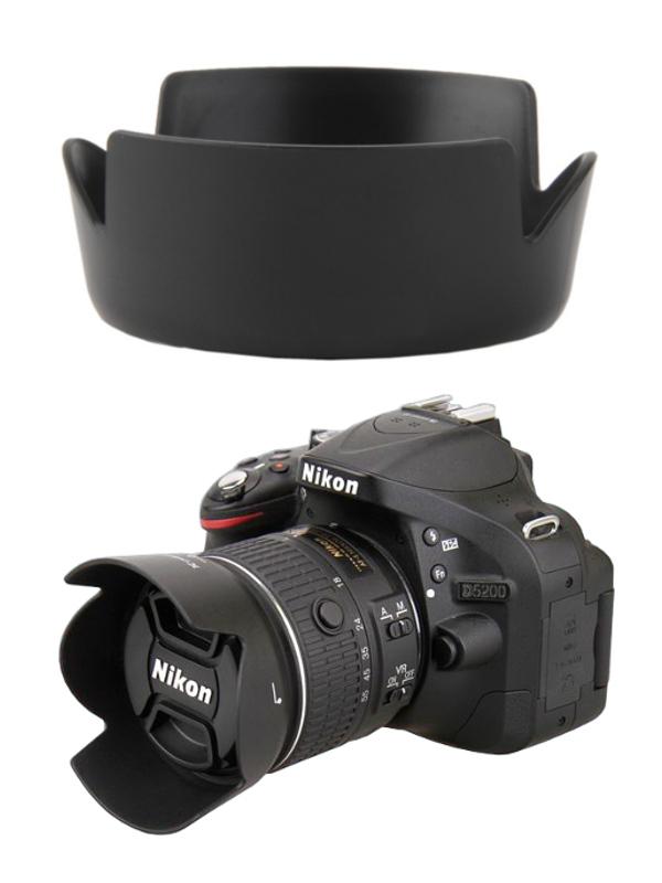 Nikon Lens Hood เทียบเท่า HB-69 for AF-S DX NIKKOR 18-55mm f/3.5-5.6G VR II