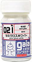 gaia 021 Semi Gloss White 15ml.