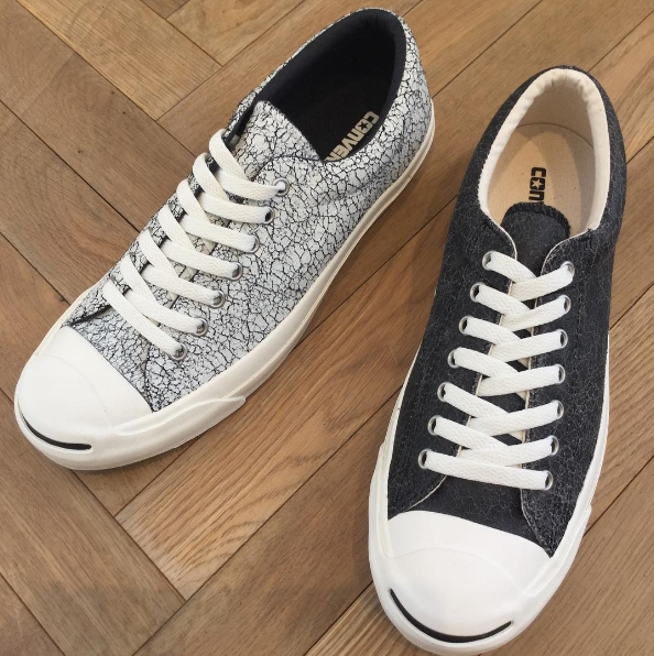 945137016b7e CONVERSE JACK PURCELL - CRACKED LEATHER - Converse Japan