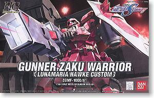 hg1/144 22 Lunamaria Gunner Zaku Worrier (Gundam Model Kits 1300yen